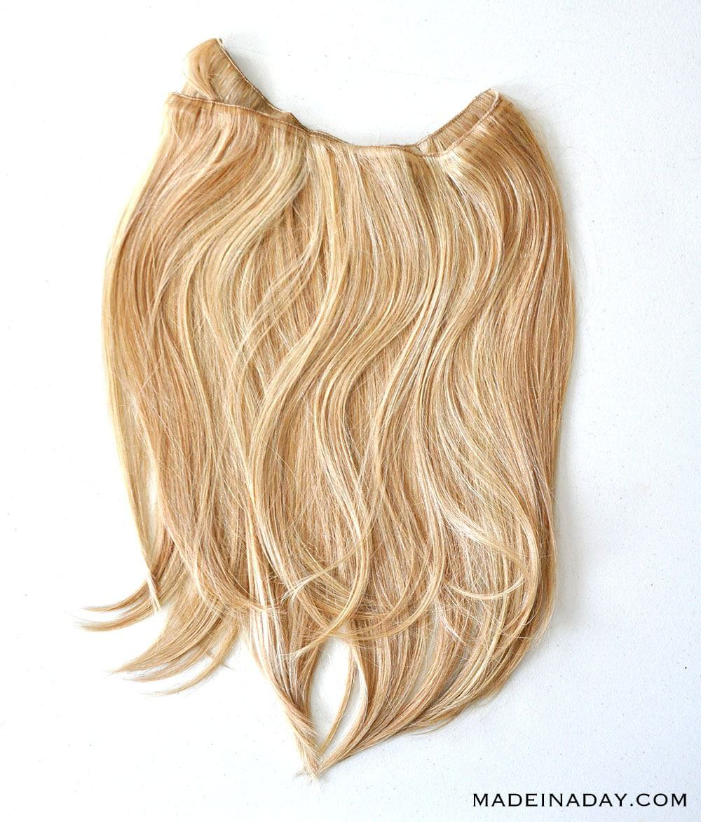 cheap SECRET Halo HAIR SYNTHETIC HALO HAIRPIECE IN # 25 GOLDEN BLONDE,