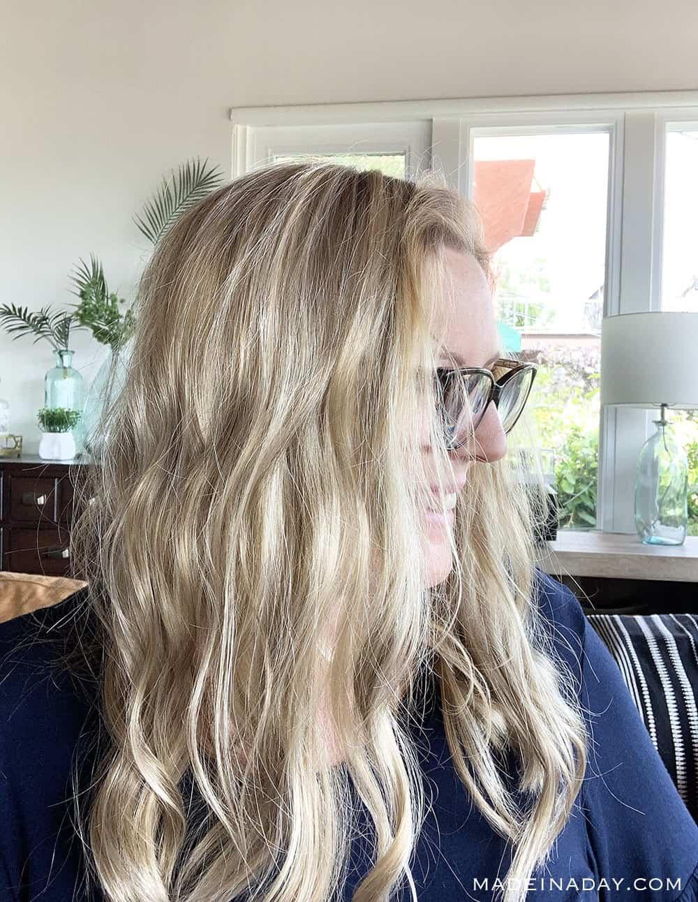Jon Renau Malibu blonde 12FS12 Top Wave Topper Review, long blonde topper wig, hair toppers, beach wave topper, wavy wig topper