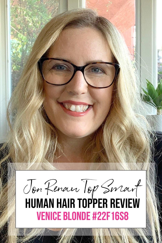 Jon Renau Human Hair Top Smart 18″ Color: Venice Blonde