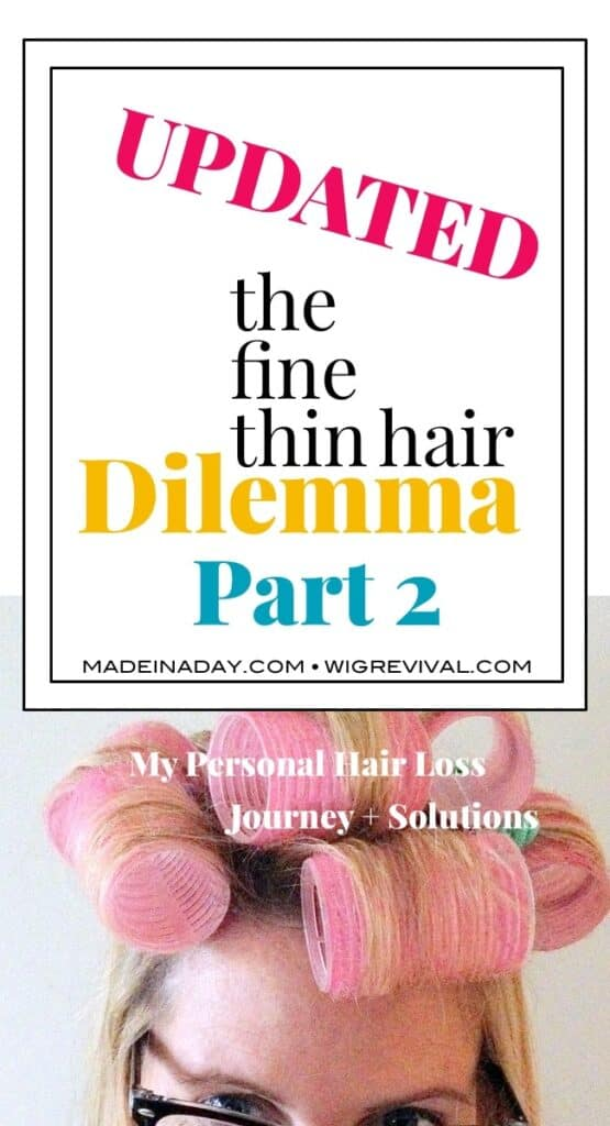 How to add fullness to fine hair, hair loss journey, fine thin hair styling