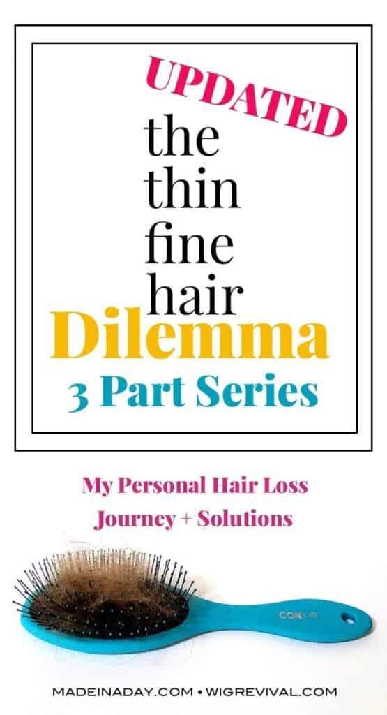 Part 1 fine thin hair dilemma, hair loss solutions,