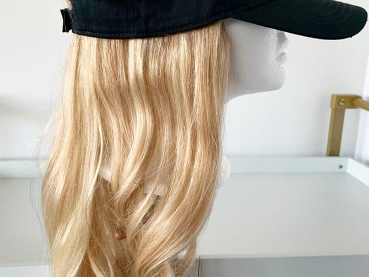 How To Turn a Lace Front Wig into a Hair Topper post