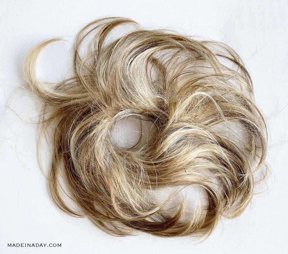 Hairart Hair Wrap 6 – #24:14:12 Pale Golden Blonde:Light Ash Brown:Light Golden Brown