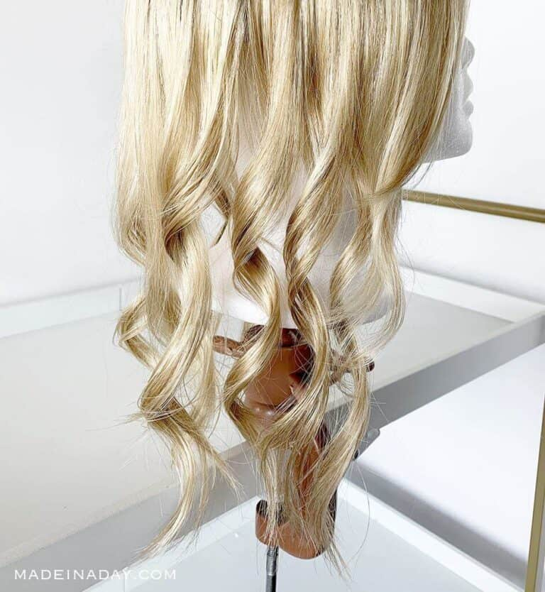 How to Curl Synthetic Hair Safely