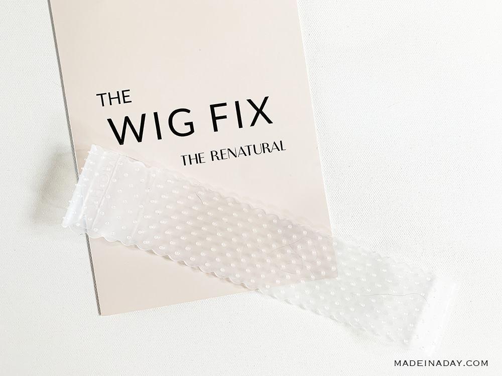 silicone wig headband