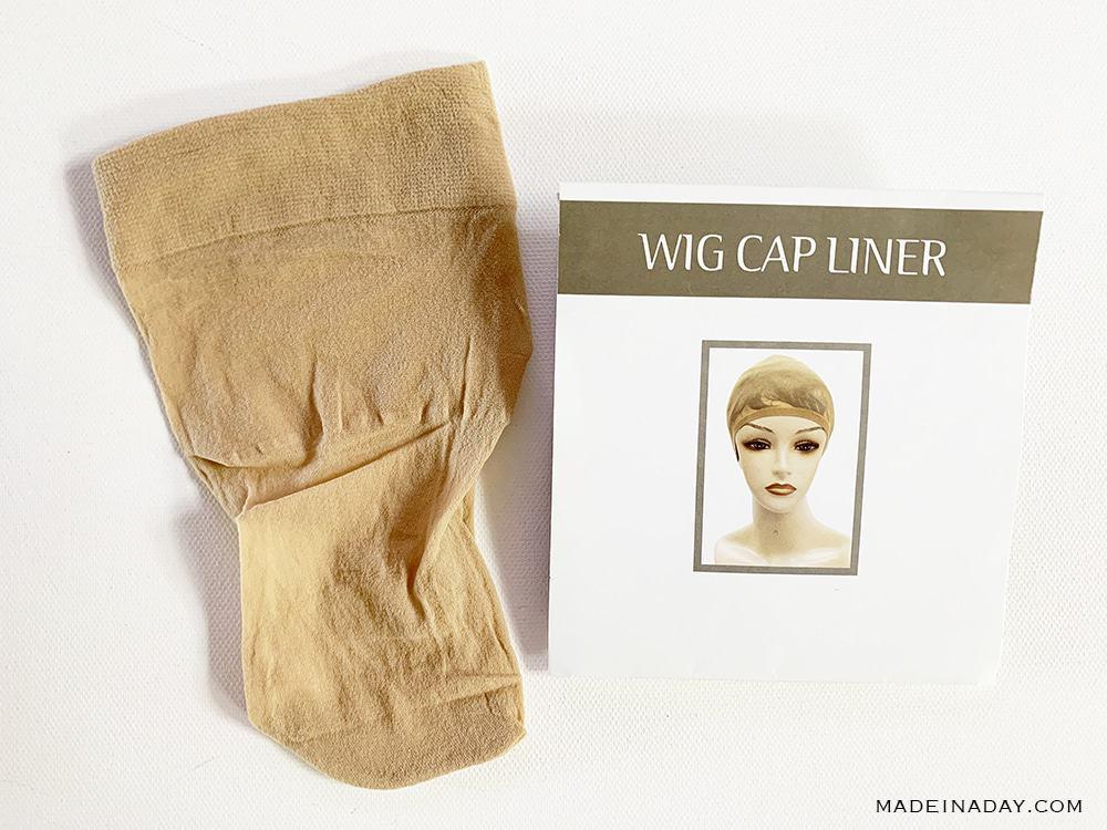 stocking wig cap